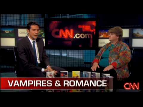 Charlaine Harris interview by CNN