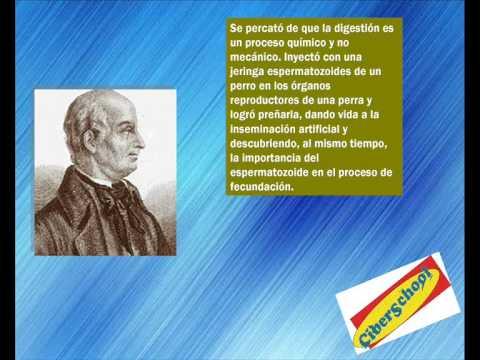 textos científicos Lazaro Spallanzani