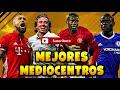 MEJORES CENTROCAMPISTAS DE [video]