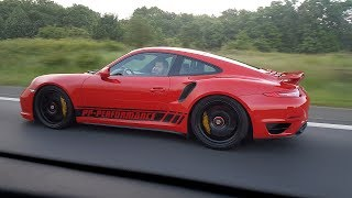 780HP Porsche 991 Turbo S PP Performance - 340 KM/H TOPSPEED AUTOBAHN RUN!!