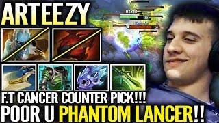 Arteezy Picked Counter Hero - Ez Top Lane Sven Strongest Hero 7.18 Dota 2