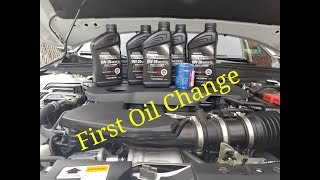 2018 Honda Accord 2.0T First Oil Change