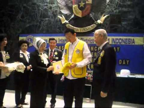 LIONS WORLD LUNCH RELAY, CHARTER DAY, LWWID, CHARTER LEO di DISTRICT 307 A1