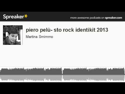 piero pelù- sto rock identikit 2013 (creato con Spreaker)