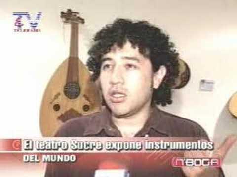 El Teatro Sucre expone instrumento del mundo