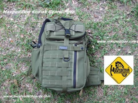 Survival Gear - Maxpedition Kodiak Gearslinger Part 1