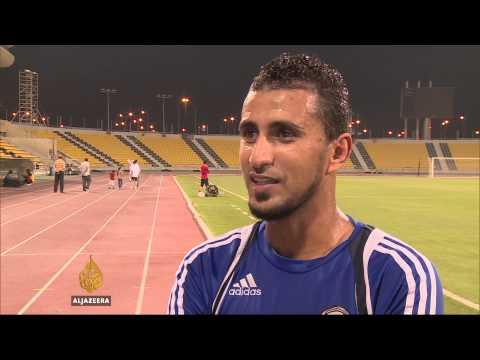 Yemen footballers' nomadic lifestyle