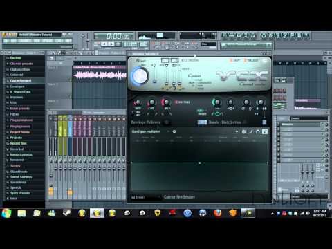 Tutorial - How to use a Vocoder