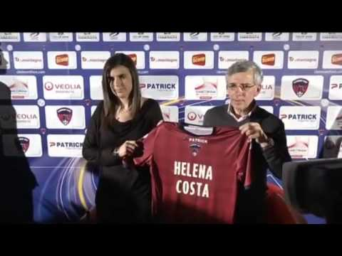 Clermont Foot's Helena Costa  'look at me as a normal coach