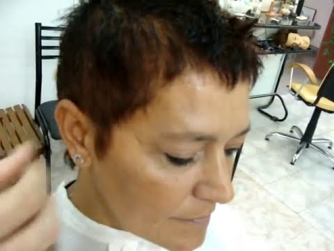Female Short Haircut - Corte de Pelo Corto Femenino