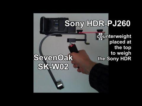 Sevenoak SK-W02 stabilisateur test