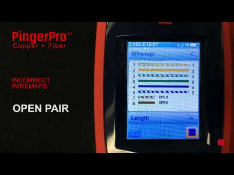 PingerPro for Cable and Port ID Testing