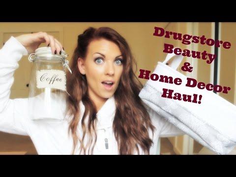 ❤ Drugstore Beauty & Home Decor Haul ❤