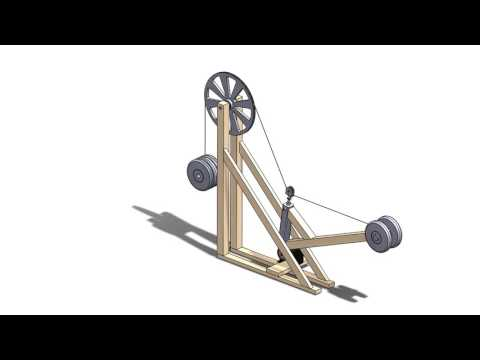 Gravity Turbine Demonstration Animation. Check out the other video for construction!