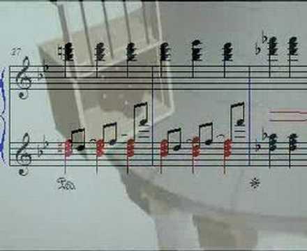 Le roi et l 39 oiseau piano sheet music 2 youtube - Coloriage le roi et l oiseau ...