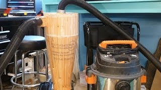Wooden Cyclone Dust Collector