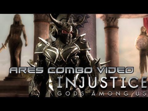 Injustice: Gods Among Us - Ares Combo Video