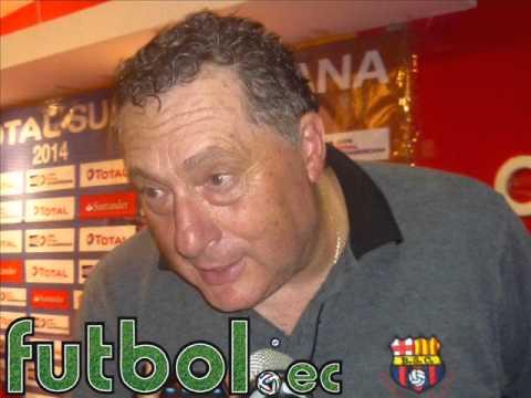 Rubén Israel (Post Partido Barcelona 1 - Libertad 0 11/09/2014)