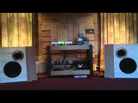 Musical Affairs Open Baffle Field Coil prototype Loudspeaker / Frank Sinatra - m