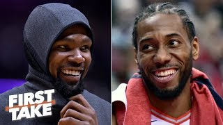 Kawhi and KD on the Clippers would unseat the Warriors as favorites – Max Kellerman | First Take
