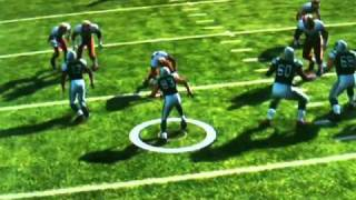 Matthew Berry Takes Out Nate Ravitz First Play of Game in Madden 2011 (Second Angle) (Fantasy Focus)