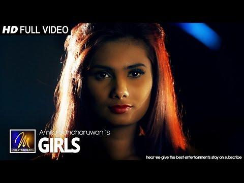 Girls - Amila Sandharuwan | Official Music Video | MEntertainments
