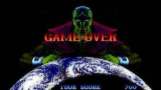 Superman Game Over Sega Genesis