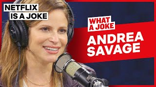 Andrea Savage Discusses Working With The Lonely Island | What A Joke | Netflix Is A Joke