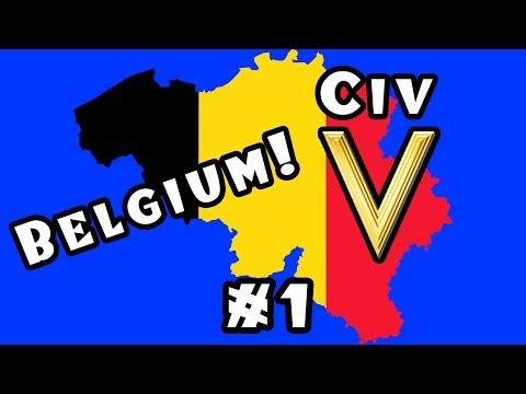 Civilization 5: Belgium! -- Ep. #1