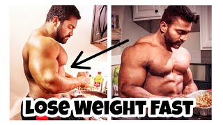 How to lose weight fast. Follow these simple steps to lose fat fast.