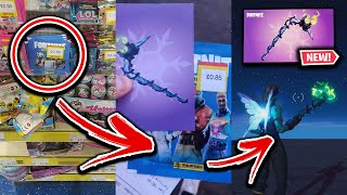 How I Bought Minty Pickaxe Codes For Less Than $1! (In-Store Proof)