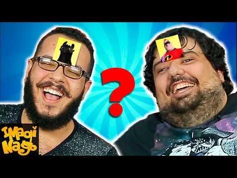 QUAL É O PERSONAGEM? com TOTORO (Porta dos Fundos) thumbnail