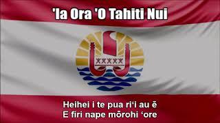 National Anthem of French Polynesia ('Ia Ora 'O Tahiti Nui) - Nightcore Style With Lyrics
