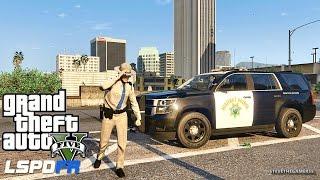 LSPDFR #432 - CHP TAHOE PATROL (GTA 5 REAL LIFE POLICE MOD)