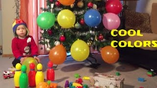 Colors for Children to Learn with Monster Trucks Balloons Toys Colours for Kids to Learn