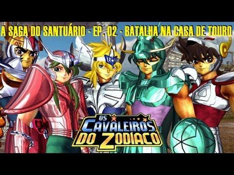 Cavaleiros do Zodíaco: A Saga do Santuário - Ep. 02 - Batalha na Casa de Touro