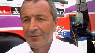 Dakar 2013 - Verzeletti dell'Orobica Team a fine gara.