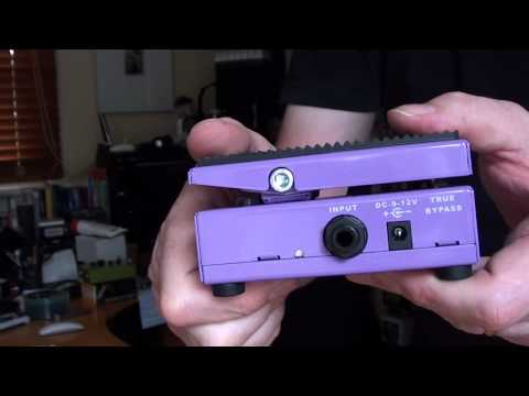 Amt Electronics: Wh-1 japanese Girl Jfet Wah video