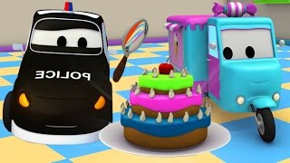 The Car Patrol : Police Car & Fire Truck of Car City and the Stolen Cakes