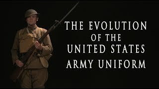 Evolution of the  United States Army Uniform - HD