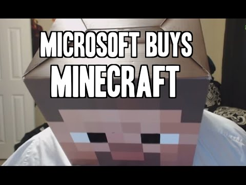 Its official: MICROSOFT BUYS MOJANG!