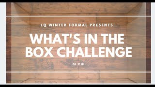 LQBLxGL: What's in the Box Challenge