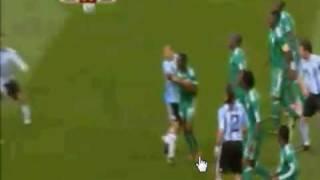 Thumb Video del GOL de Gabriel Heinze en Argentina 1 Nigeria 0: Mundial de Fútbol