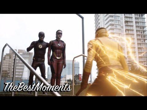 The Flash - Тренировка трех спидстеров
