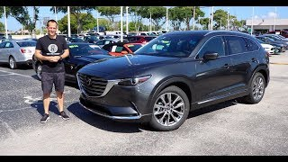 Does the 2019 Mazda CX-9 fit ALL of your SUV needs?