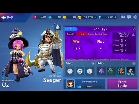 Arena Masters: Legend Begins || NEW EVENT: KOF - Kyo Gameplay