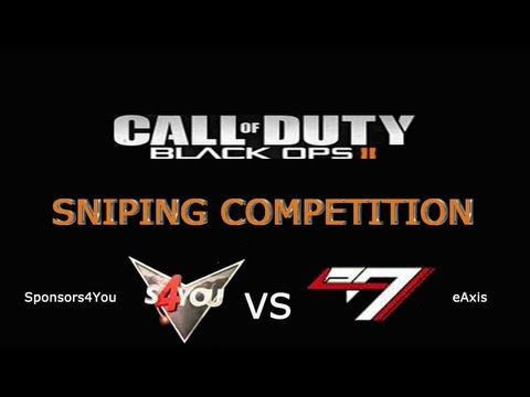 Competition Sniping - S4You VS eA - Live commentary de Pi3riK & iRoNz (Test-Match amical)