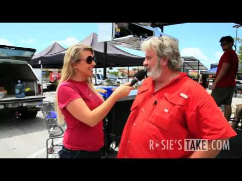 Rosie Maria meets up with BBQ Superstar Myron Mixon!