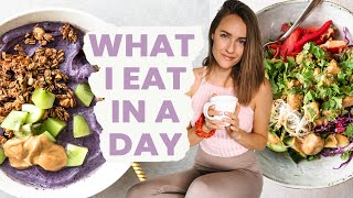 What I Eat in a Day - Healthy Vegan Meals at Home