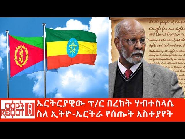 Eritrean Professor Bereket H/Selassie About Ethio-Eritrea